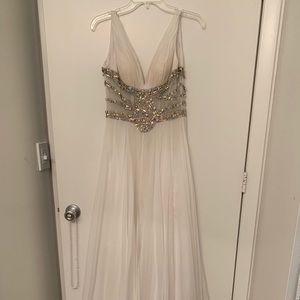 Three gorgeous dresses! Formal, wedding, or prom